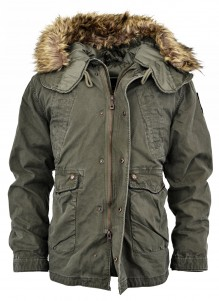 Army parka s kapuco RS 10