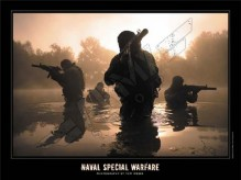 Poster Naval Special Warfare