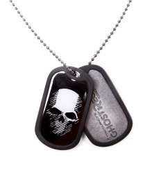Ghost Recon Wildlands - Logo and Skull Dog Tag