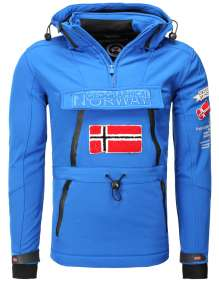 Moški Softshell anorak Geographical Norway Tuilding