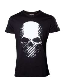 Moški t-shirt GHOST RECON WILDLANDS - BIG SKULL LOGO T-SHIRT